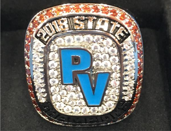 Boys Cross Country State Champion Ring