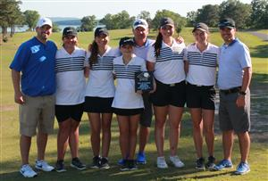 White Plains Girls Golf Team, 2nd Place Sub State