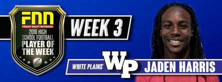 Week 3 Player of the Week Jaden Harris, WPHS Football