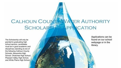 Scholarship Calhoun County Water