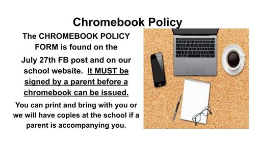 Chromebook Policy