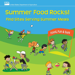 Summer Food Rocks! Find Sites Serving Summer Meals