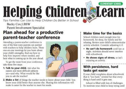 elementary newsletter