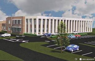 Alexandria Middle School Architectural Rendering
