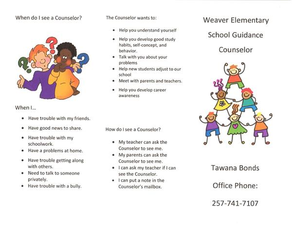 Counselor's Informational Trifold Page 1
