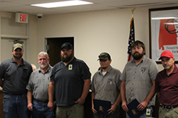 Mechanics Recognized for Hard Work and Dedication